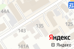Схема проезда до компании Франко Алтай в Барнауле