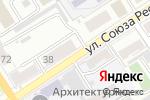 Схема проезда до компании Русская печь в Барнауле