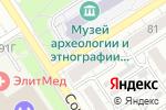 Схема проезда до компании Pivonadom.ru в Барнауле
