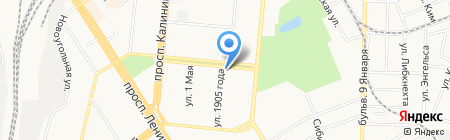 Терм-Фарм на карте Барнаула