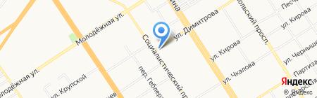 Mavi Jeans на карте Барнаула