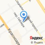 Юридическая консультация на карте Барнаула