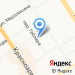 Апекс на карте Барнаула
