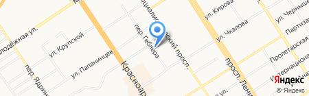 English Direction на карте Барнаула