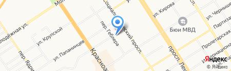 Сессия на 5! на карте Барнаула