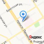 Концертно-продюсерский центр на карте Барнаула