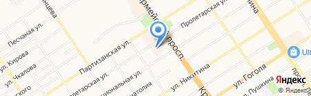 Адвокатский кабинет Гашкина А.А. на карте Барнаула