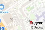 Схема проезда до компании Нова в Барнауле