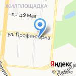 Доверие на карте Барнаула