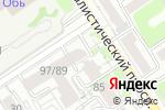 Схема проезда до компании Proalmaz в Барнауле