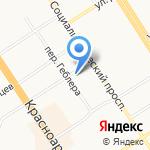 Флорэс на карте Барнаула