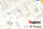 Схема проезда до компании МАТРИКС в Барнауле