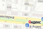 Схема проезда до компании Сибэнерготелеком в Барнауле