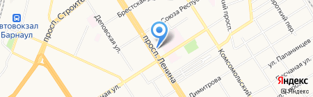 ВИОдент на карте Барнаула
