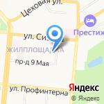 Алтайское краевое бюро судебно-медицинской экспертизы на карте Барнаула