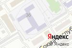 Схема проезда до компании Школа Кунг Фу Владимира Суркова в Барнауле