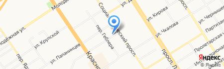 Ассоциация защиты прав страхователей и потребителей страховых услуг на карте Барнаула