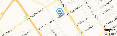 Филармонический университетский русский оркестр на карте Барнаула
