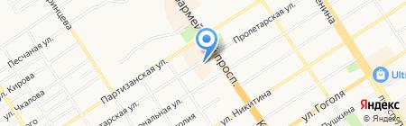 Доминанта на карте Барнаула