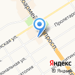 Агентство энергетических споров на карте Барнаула