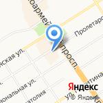 ГазЭксперт на карте Барнаула