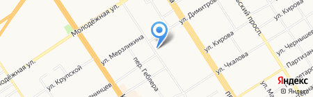 Ателье дизайна и архитектуры Софии Бартко на карте Барнаула