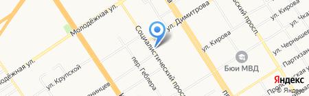 Go Too на карте Барнаула