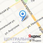 Нэтком на карте Барнаула