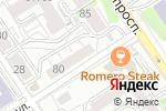 Схема проезда до компании Лингва Клаб в Барнауле