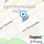 Магазин-склад монтажного оборудования на карте Барнаула