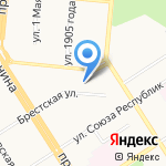 Эко-Лайф на карте Барнаула
