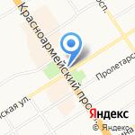 Алтайское краевое отделение Российского детского фонда на карте Барнаула