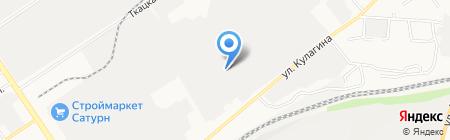 Станко-цепь на карте Барнаула