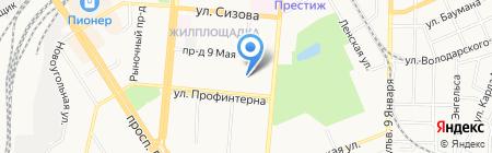 ИФНС на карте Барнаула