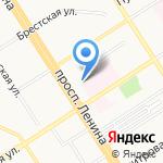 Барнаульский городской детско-юношеский центр на карте Барнаула