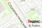 Схема проезда до компании Светкомплект в Барнауле