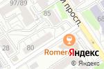 Схема проезда до компании Флёр Декор в Барнауле