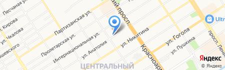 Алтайский краевой центр по гидрометеорологии и мониторингу окружающей среды на карте Барнаула
