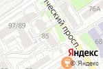 Схема проезда до компании Адвокатский кабинет Мовшовича В.Ю. в Барнауле