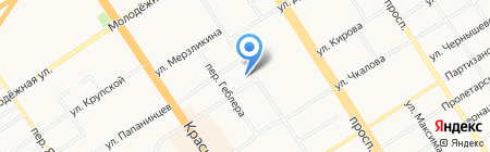 Стабресурс на карте Барнаула