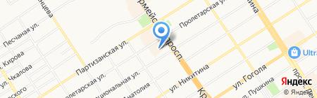 Строй-Проект на карте Барнаула