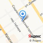 Адвокатский кабинет Струкова Г.Г. на карте Барнаула