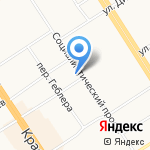 АлтайАвиа на карте Барнаула
