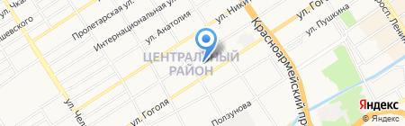 Ярошенко и Компания на карте Барнаула