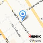 Ампир на карте Барнаула