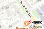 Схема проезда до компании Дуэт в Барнауле