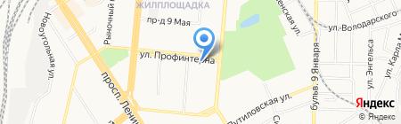 Идеальная Пара на карте Барнаула