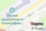 Схема проезда до компании Интерьер-Картина в Барнауле
