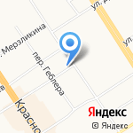 У Абу на карте Барнаула