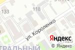 Схема проезда до компании Упряжь в Барнауле